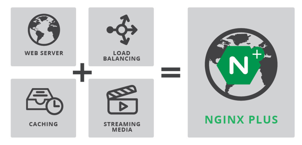 NGINX Plus is a proven application delivery platform that combines web serving, load balancing, caching, and streaming media delivery