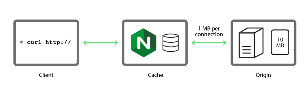 A simple, reproducible test bed used to investigate strategies for caching in NGINX