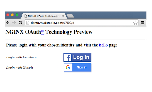 Introducing the OAuth Technology Preview in NGINX Plus R8