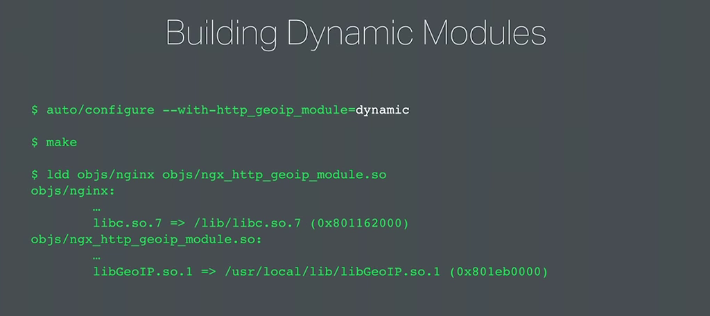 Dynamic Modules Development |NGINX