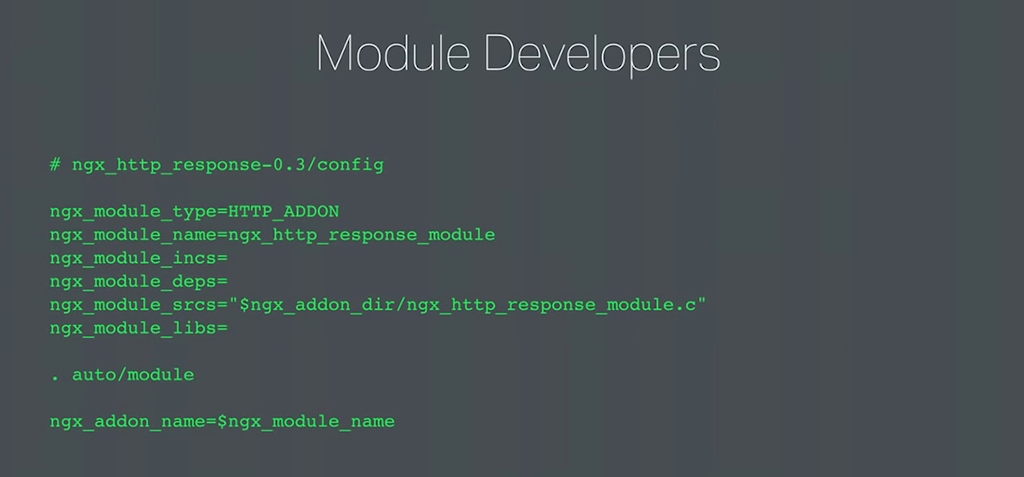 Kinds of changes that developers of third-party modules must make to conver to dynamic modules