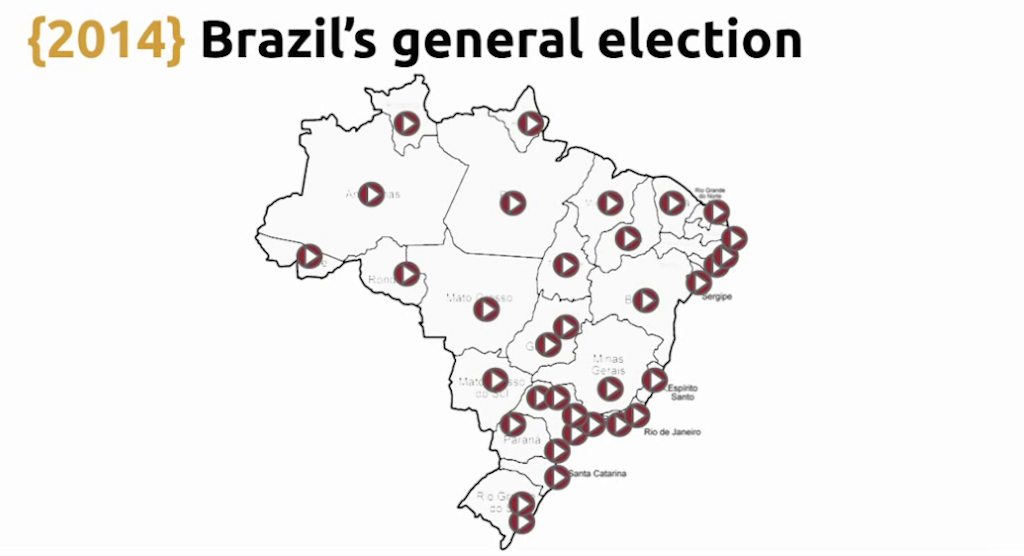 Televising results from Brazil's general election involved 30 simultaneous streams, which challenged the Python/Redis solution during live video streaming [Globo.com presentation at nginx.conf2015]