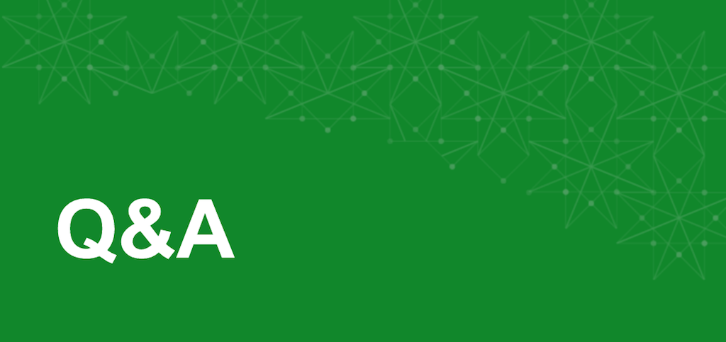 Q and A title slide for immutable infrastructure with NGINX