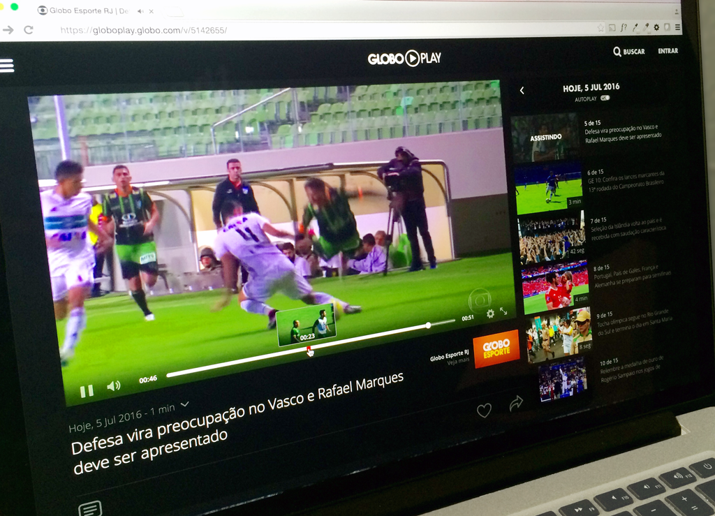 Image of Globoplay for Globo case study about video streaming through NGINX, hls and rtmp