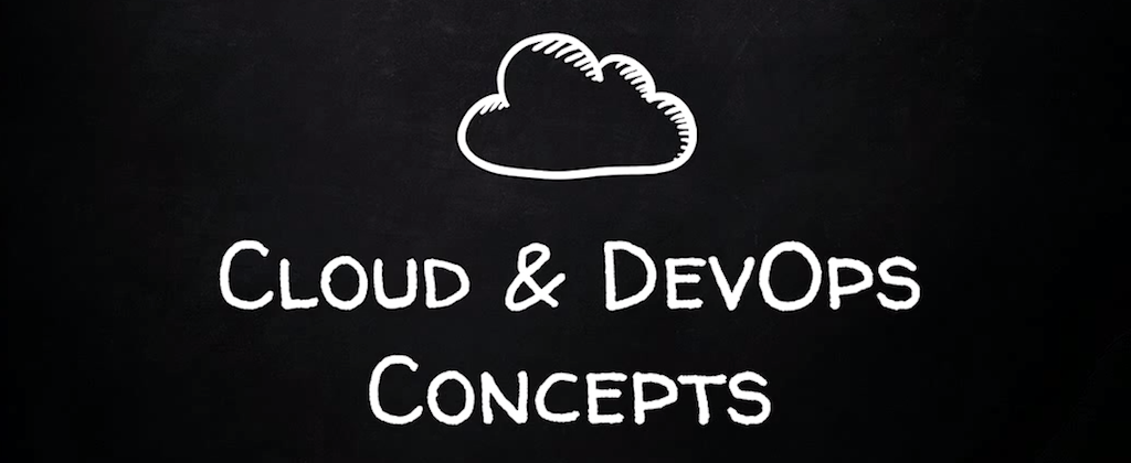 introductory slide for 'Cloud & DevOps Concepts' section of presentation for continuous integration and delivery of your application [presentation by Derek DeJonghe of RightBrain Networks at nginx.conf 2015]