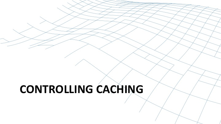 Controlling content caching with NGINX introduction [webinar by Owen Garrett of NGINX]