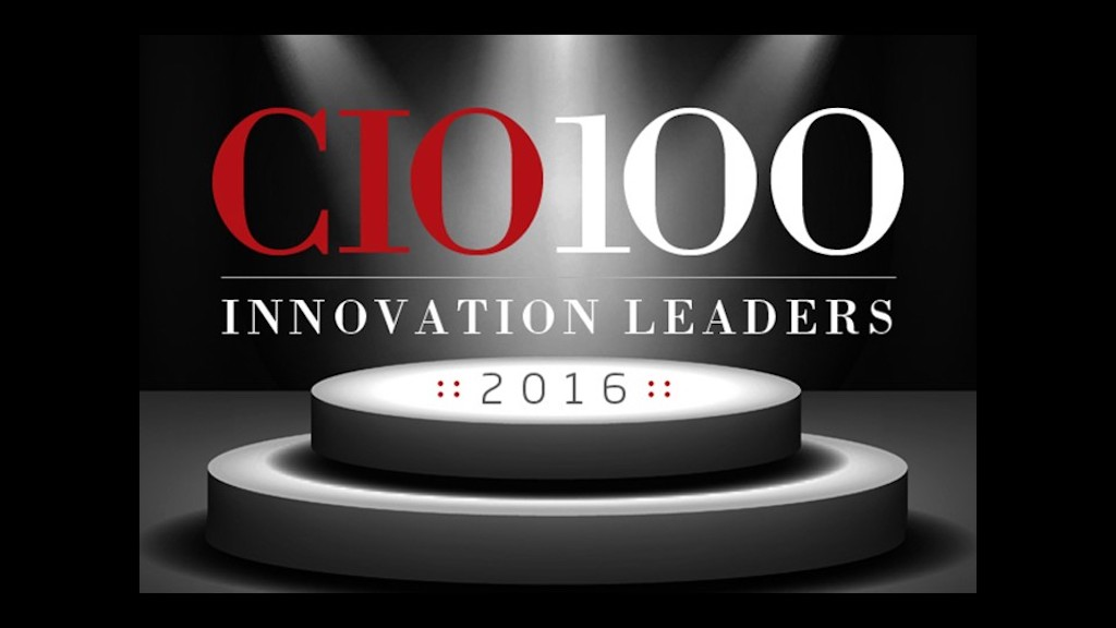CIO magazine recognized a hundred innovators