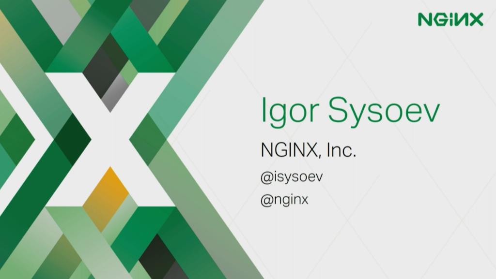 Introducing Igor Sysoev
