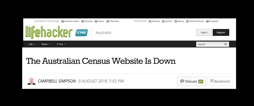 Without NGINX load balancing and web serving capabilities, the Australian Census Website shuts down