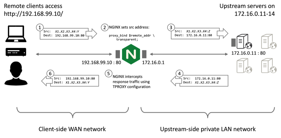Ip Transparency And Direct Server Return With Nginx Plus