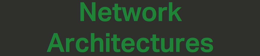 Section title slide reading Network Architectures to introduce the three models in the NGINX Microservices Reference Architecture [presentation by Chris Stetson, NGINX Microservices Practice Lead, at nginx.conf 2016]