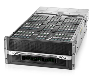 The NGINX Plus application delivery controller can run on ARM servers like the HP Moonshot blade server