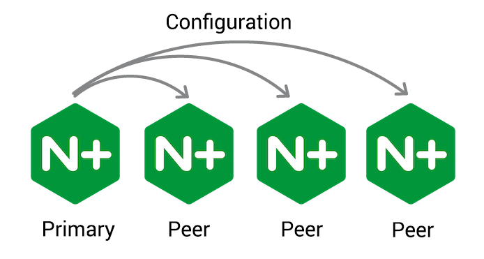 """""""Sync configuration from primary to peers with NGINX Plus R1"""