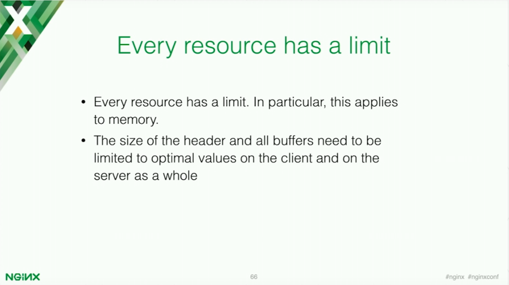 Every resource has a limit [presentation by Stepan Ilyan, cofounder of Wallarm, at nginx.conf 2016]