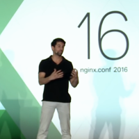 Thumbnail for microservices, Kong, and NGINX presentation [presentation by Marco Palladino, CTO at Mashape.com at the nginx 2016 conference]