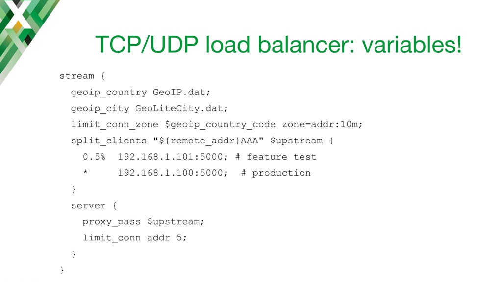 TCP and UDP Load Balancing with NGINX: Tips and Tricks