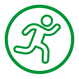 Icon of Agile Running Man
