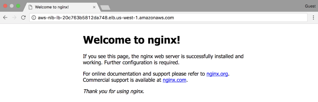 NGINX Docs | Active-Active HA for NGINX Plus on AWS Using
