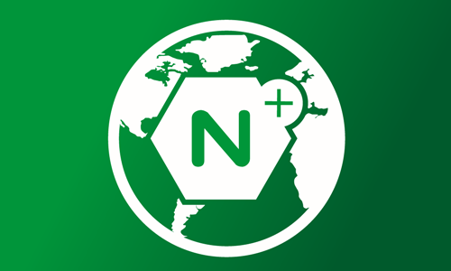 NGINX Plus icon on globe