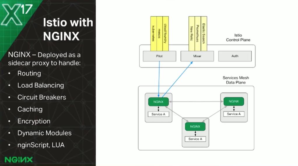nginMesh: NGINX Proxy in an Istio Service Mesh - NGINX