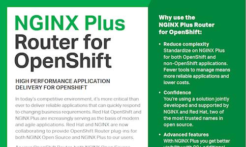 NGINX Plus software load balancer, web server, and cache | NGINX
