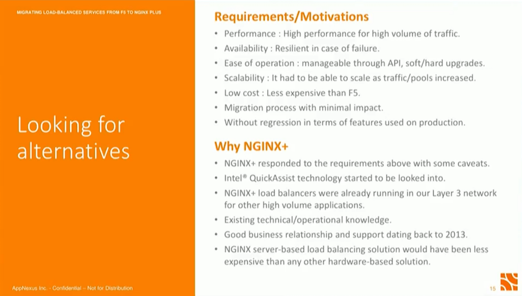 NGINX Conf 2018: Migrating Load-Balanced Services from F5 to NGINX