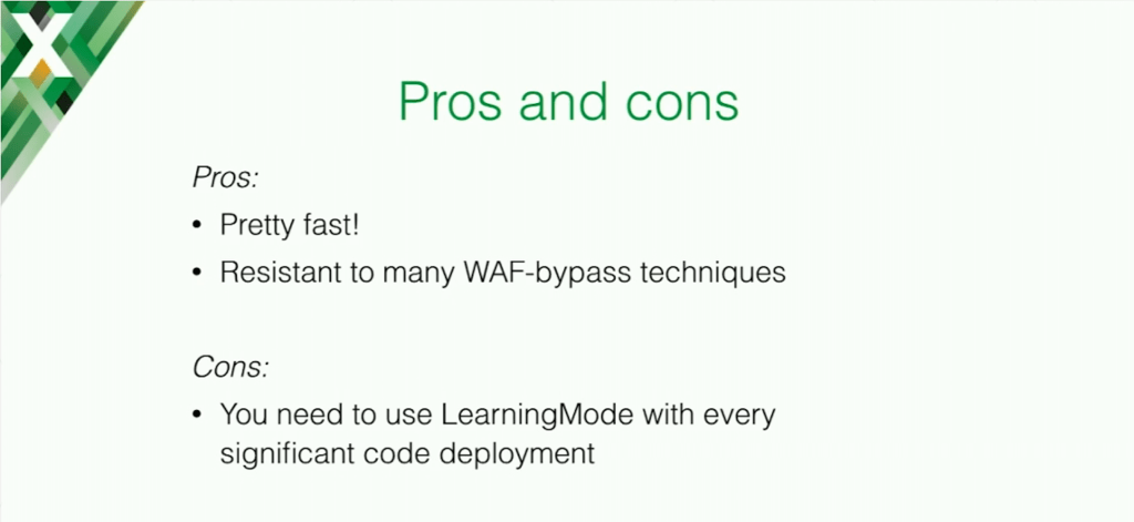 NAXSI is fast and resistant to many web application firewall bypass techniques, but you need to use LearningMode with every significant code deployment