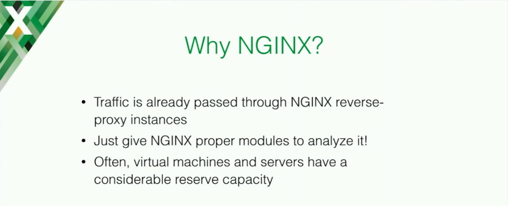 Reasons to use NGINX for application security