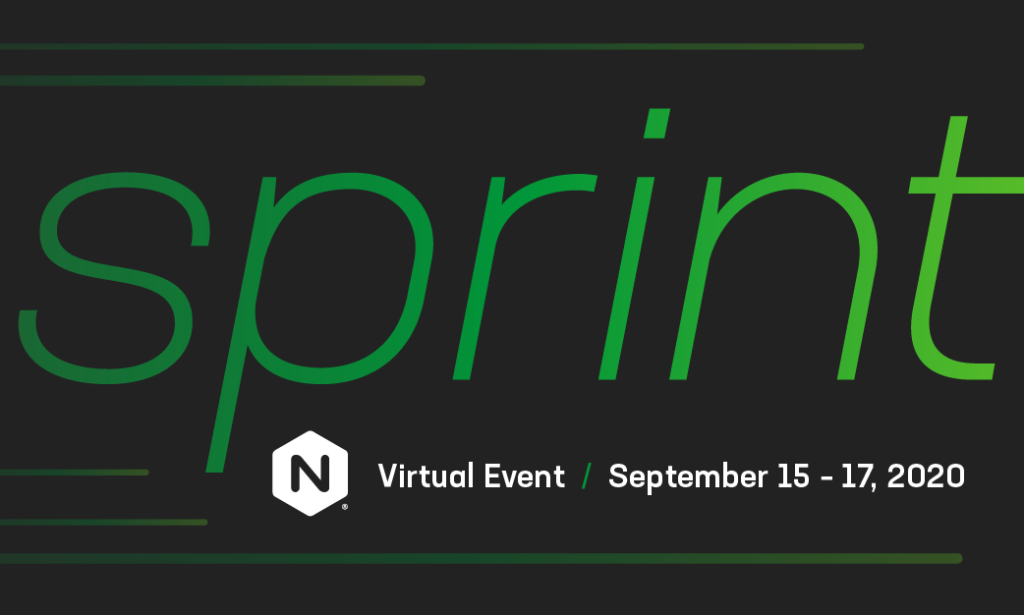 Join Us at NGINX Sprint 2020