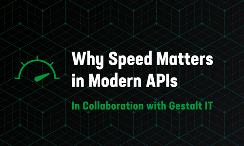 Why Speed Matters in Modern APIs