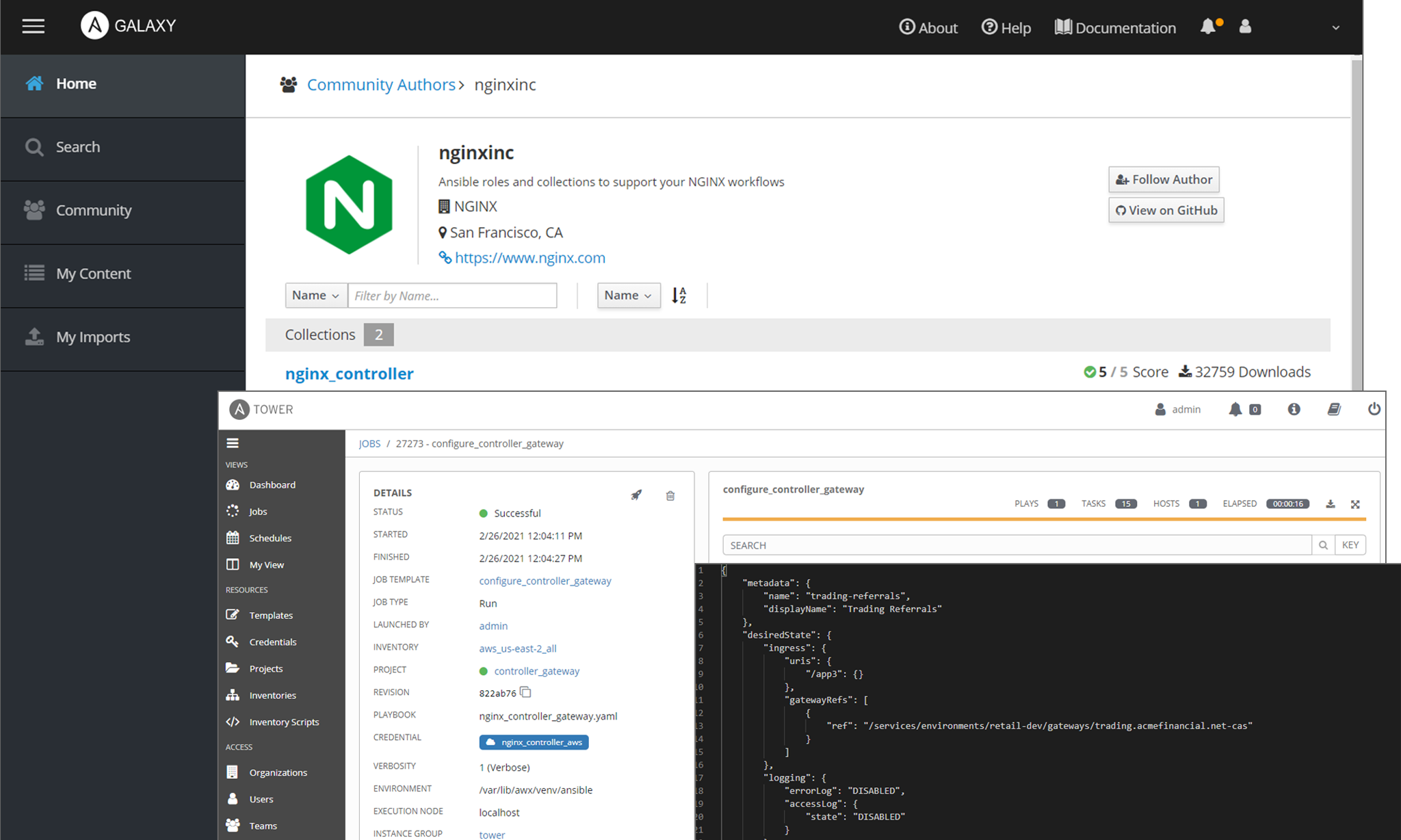 NGINX Controller automates app delivery