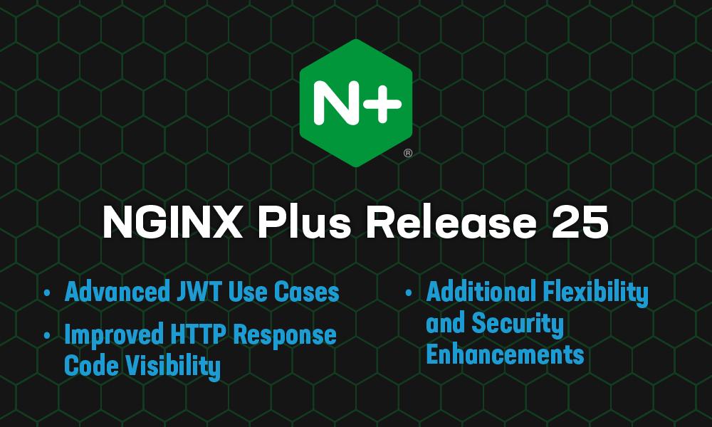 Announcing NGINX Plus R25